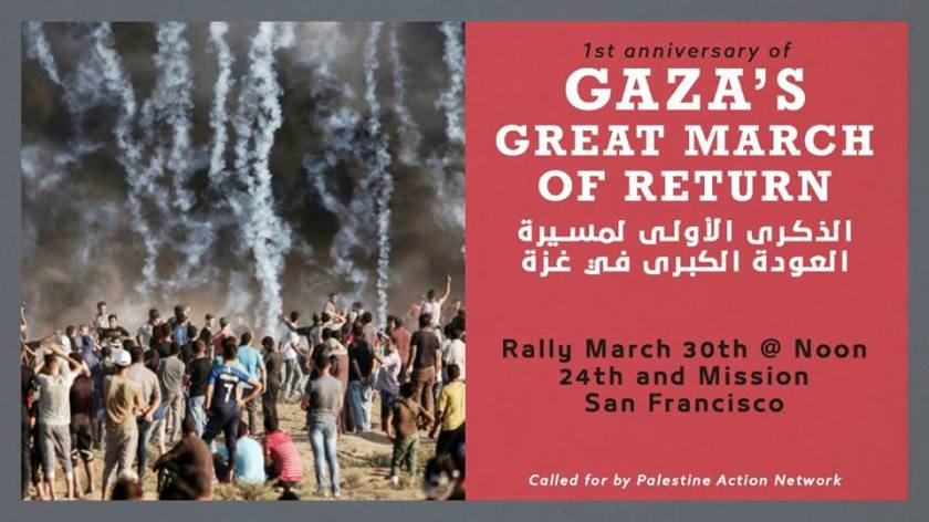 March 30th protest