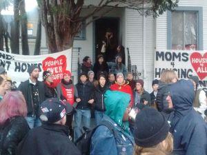 demonstration Moms4Housing