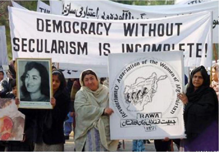 photo of demonstrators